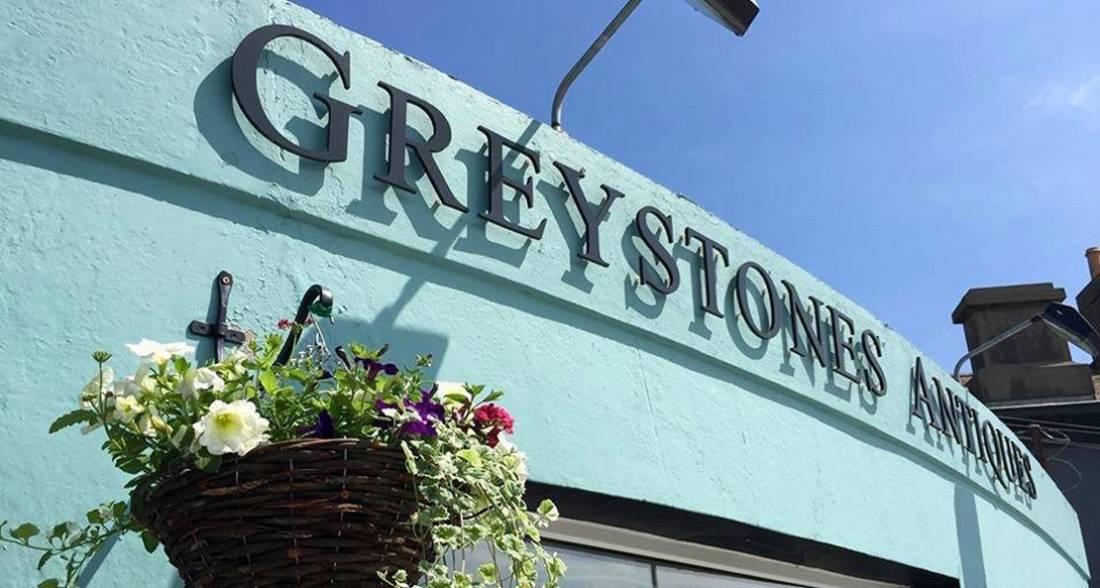 Greystones Antiques Shopfront