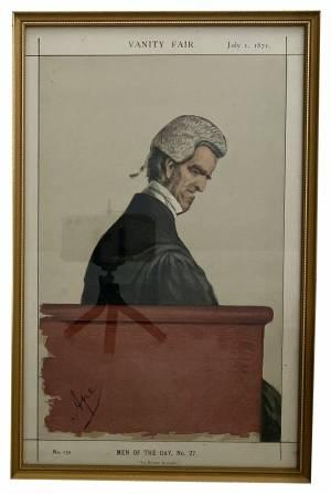 Orignal Vanity Fair Spy prints Greystones Antiques