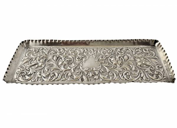 Silver pen tray, Antique silver, jewellery, collectables & more. Greystones Antiques, Co. Wicklow, Ireland. 20km south of Dublin.