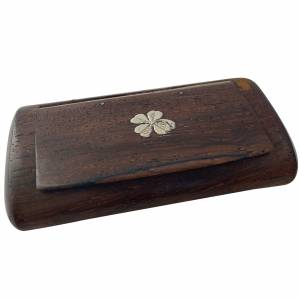 Rosewood snuff box. Antique silver, jewellery, collectables & more. Greystones Antiques, Co. Wicklow, Ireland. 20km south of Dublin. Shop online, open 7 days.