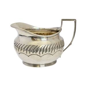 Silver jug, Antique silver, jewellery, collectables & more. Greystones Antiques, Co. Wicklow, Ireland. 20km south of Dublin.