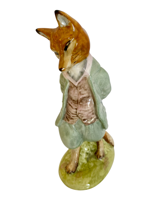 Beatrix Potter figure, Antique silver, jewellery, collectables & more. Greystones Antiques, Co. Wicklow, Ireland. 20km south of Dublin.