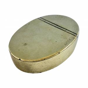 Brass snuff box, Antique silver, jewellery, collectables & more. Greystones Antiques, Co. Wicklow, Ireland. 20km south of Dublin.